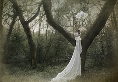 Because of you..... (Kirsty Mitchell) Tags: trees texture girl forest self hope woods storybook heartbroken makeawish formymother savethismemory kirstymitchell thisisrealnotphotoshop