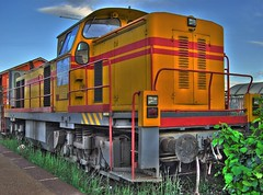Locomotive (Fabio Montalto) Tags: yellow train catchycolors nikon locomotive hdr photomatix tonemapped 5xp d40x colorartaward hdraddicted hdraward overtheshot wagman30