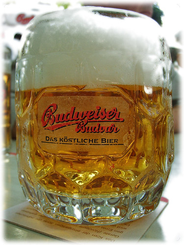 Beer at the Schweizerhaus (Budweiser)