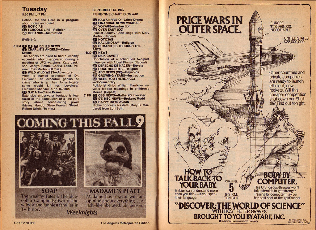 The Essential TV Guide Fall Previews of the 80s, Part 5: 1982