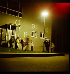 C9 (Urban Skills) Tags: school friends 6x6 tlr film lens evening reflex fuji seagull c twin 9 skills pro medium format 800 c9 gela nemencine