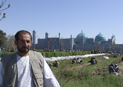 Asif (MastaBaba) Tags: travel blue portrait afghanistan goat mosque polo kabul mazar mazaresharif 20050321