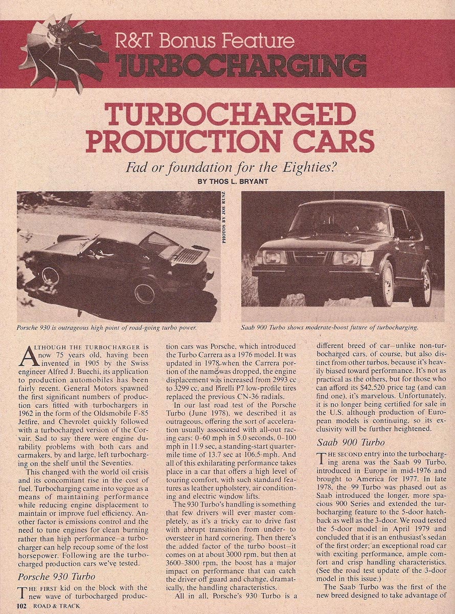 Re: The archive: 1980's Turbo Technology (giantrobot9000)