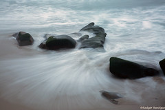 motion (RB@photography) Tags: rocks windansea le longexposure ocean lajolla motion sand