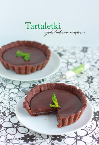 Tartaletki czekoladowo-mietowe