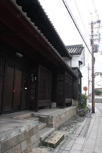京街道の町並み