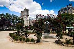 Notre Dame De Paris (dwursteisen) Tags: paris france monument 200iso capitale 12mm f11 iledefrance 1224mm christianisme catholicisme cathdralenotredamedeparis lieudeculte canoneos40d s edificeremarquable sf11