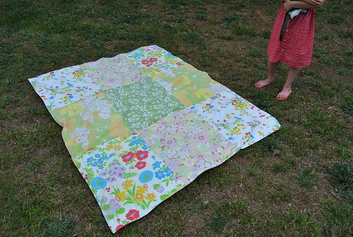 a pillowcase quilt