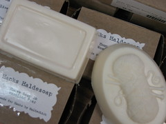 Hanks Haldesoap (closeup)