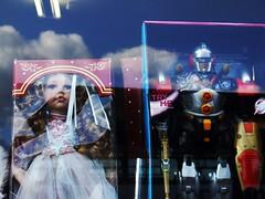 "Gender Stereotypes ""R"" Us (Ronald Hackston) Tags: uk boy england sky reflection london window girl sex shop toys robot doll streatham southlondon stereotype lambeth"