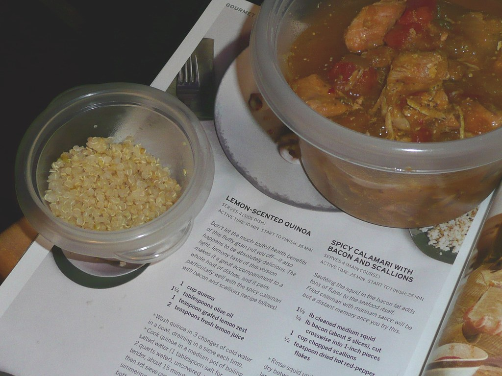 Slow Cooker Moroccan Chicken Stew and Lime-Scented Quinoa
