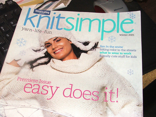 Knitsimple Premiere Issue