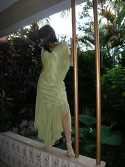 my green dress (Cristina Bruseghini de Di Maggio) Tags: modelos greendress estremità