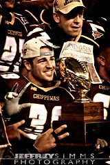 MAC Championship Trophy (Jeffrey Simms Photography) Tags: ford college field photography back football championship lomo mac university mt michigan cmu alma photoshopped detroit central mater chips trophy jeffrey fighting mighty champions pleasant simms chippewas jsphotography jeffreysimmsphotography
