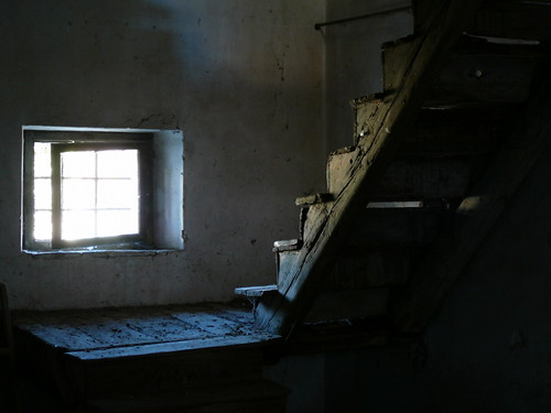 Luce sulla scala