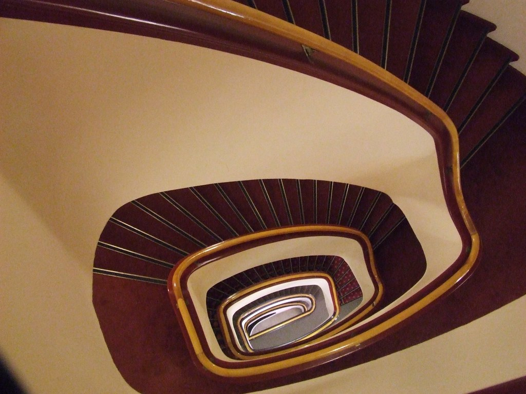 trap/staircase in best western hotel utrecht