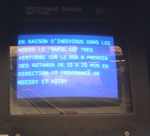 le RER B prepare Noël