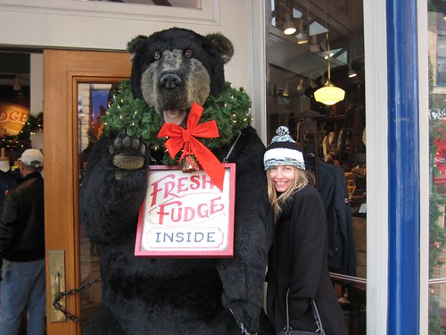 Fresh fudge, anyone?