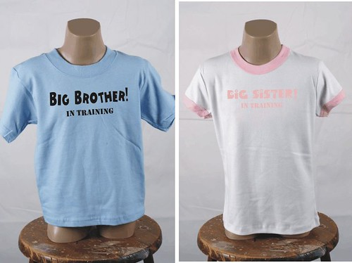 """Big Brother/Sister In Training"" Youth T-Shirt"