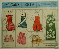 Apron from towels pattern, 1967