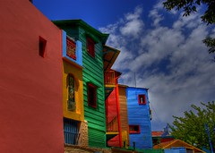 La Boca Colors (Thad Roan - Bridgepix) Tags: color argentina architecture buenosaires colorful laboca 200801