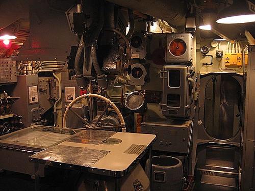 USS Drum Submarine. Museum Ship. Mobile.Alabama.USA.December 2007