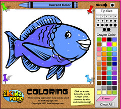 KidsPage Colouring