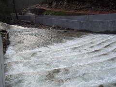 A Ermida, 23 de xaneiro de 2008. As obras xa na fase final