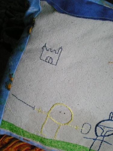 zane's knight pillow