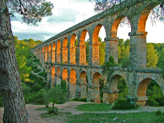 Les Ferreres Aqueduct, water scarcity