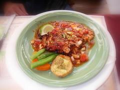 摩洛哥辣味香醬燒烤雞排