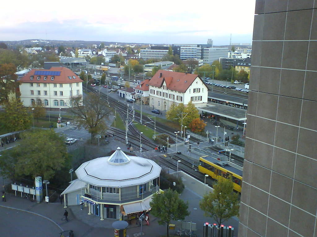 View from Pullman Stuttgart Fontana