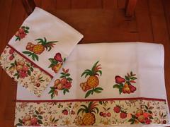 abacaxi (arte_da_fazenda) Tags: cozinha aplicao patchcolagem panodeprato