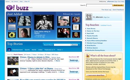 Yahoo! Buzz