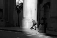 Pillar and walker (formerly_of_devon) Tags: sanfrancisco street usa white black monochrome delete10 canon delete9 delete5 350d delete2 delete6 delete7 save3 delete8 delete3 scene delete delete4 save save2 save4