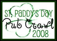 Irish pub crawl logo 08