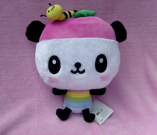 Sanrio Pandapple Rainbow Plush by sugarbunnies379.