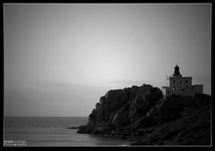 Forgotten Lighthouse (Imed_Boukhaf) Tags: sea lighthouse beach nature d50 algeria mediterranean jijel platinumphoto ultimateshot