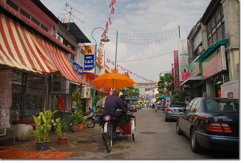 Trishaw Tour Around Penang