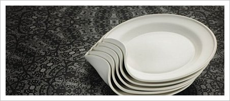 Benta Plates, INV/ALT design :  contemporary plates design