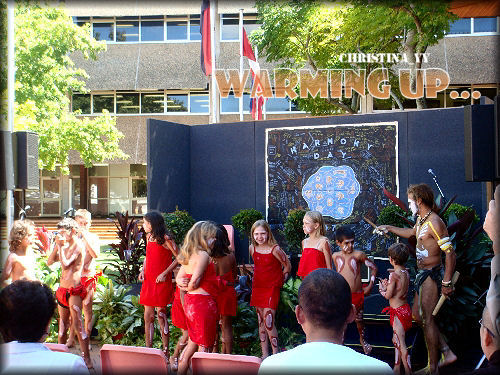 USQ Harmony Day 2008: Warming Up