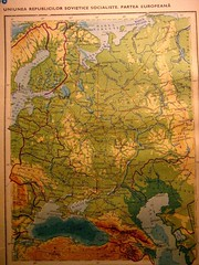 The map of European USSR. (cod_gabriel) Tags: map maps karte soviet peta eighties mappa mapa carta sovietunion carte kaart karta ussr urss  kort  harti  harta harita hri  cartageografica   thesovietunion hart anii80
