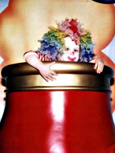 Laurel's circus portrait