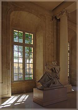 Escultura romana, Museo Calvet, Aviñón, Francia.
