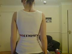 Boooooooooooo to China (ABCme) Tags: china political tshirt olympics boycott nolympics melvind abcme