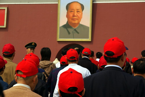 Mao and red caps