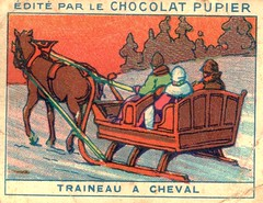traineau cheval