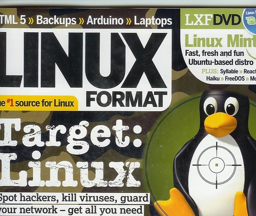 linux format #105 cover