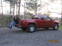 AJ's new truck