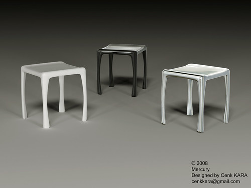 Mercury - Stool Design
